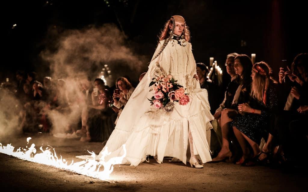 Gucci enflamme Arles et les Alyscamps
