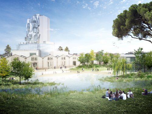 Parc paysager des Ateliers Arles