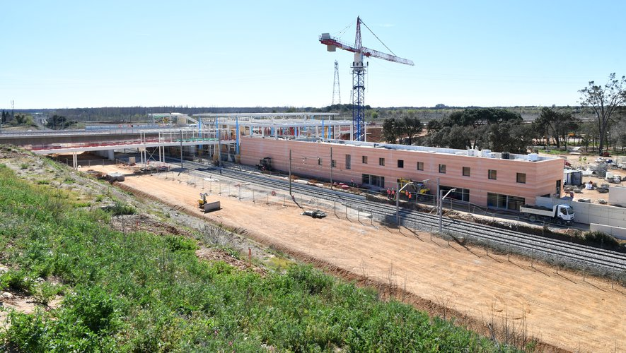 Nouvelle gare TGV Nîmes/Arles : le sprint final